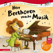 Herr Beethoven macht Musik, m. Audio-CD Cover