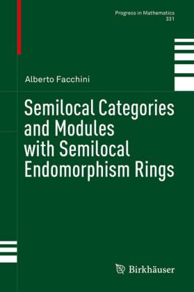 Semilocal Categories and Modules with Semilocal Endomorphism Rings