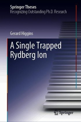 A Single Trapped Rydberg Ion