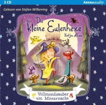 Die kleine Eulenhexe - Vollmondzauber um Mitternacht, 2 Audio-CD