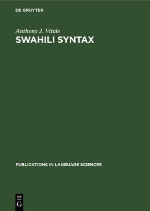Swahili Syntax