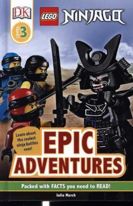 Lego Ninjago Epic Adventures Dk Julia March 9780241375976 Bucher Kreativitat Borromedien De