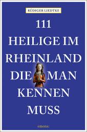 111 Heilige im Rheinland, die man kennen muss Cover