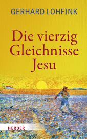 Die vierzig Gleichnisse Jesu Cover