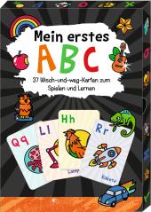 Wisch-und-weg-Wendekarten - Funny Patches - Mein erstes ABC