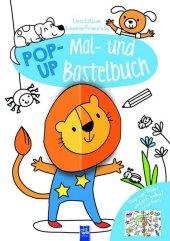 Pop-Up Mal- und Bastelbuch - Löwe