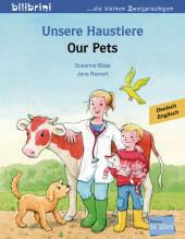 Unsere Haustiere, Deutsch-Englisch Cover