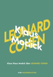 Klaus Modick über Leonard Cohen Cover