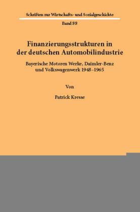 Finanzierungsstrukturen in der deutschen Automobilindustrie.
