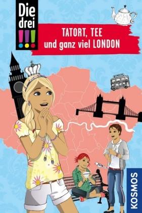 Die drei !!!, Tatort, Tee und ganz viel London (drei Ausrufezeichen)
