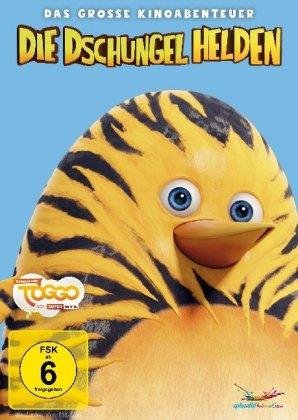 Die Dschungelhelden - Das große Kinoabenteuer - for Kids!, 1 DVD