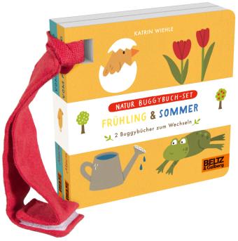 Natur Buggybuch-Set: Frühling & Sommer