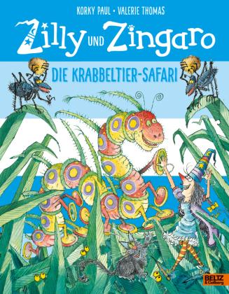Zilly und Zingaro. Die Krabbeltier-Safari