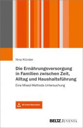 Die Ernährungsversorgung in Familien zwischen Zeit, Alltag und Haushaltsführung
