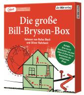 Die große Bill-Bryson-Box, 4 MP3-CDs