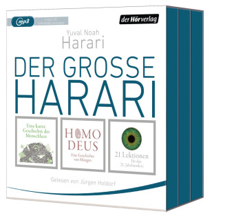 Der große Harari, Audio-CD, MP3