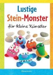 Lustige Stein-Monster für kleine Künstler