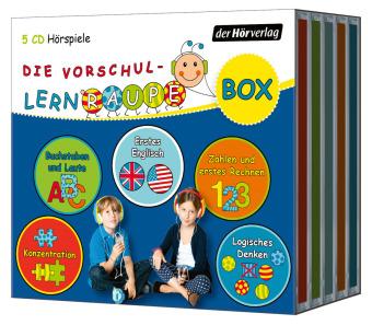 Die Vorschul-Lernraupen-Box, 5 Audio-CD