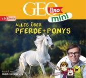 GEOmini: Alles über Pferde und Ponys, 1 Audio-CD