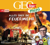 GEOLINO MINI: Alles über die Feuerwehr (1), 1 Audio-CD Cover