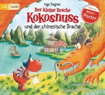 Der kleine Drache Kokosnuss und der chinesische Drache, 1 Audio-CD