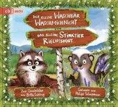 Der kleine Waschbär Waschmichnicht und Das kleine Stinktier Riechtsogut, 1 Audio-CD
