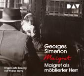 Maigret als möblierter Herr, 4 Audio-CD