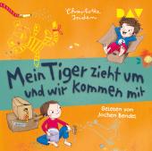 Mein Tiger zieht um und wir kommen mit, 1 Audio-CD