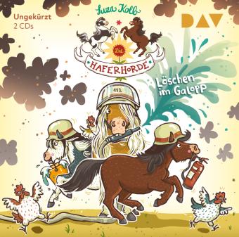 Die Haferhorde - Löschen im Galopp, 2 Audio-CD