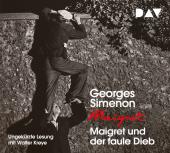 Maigret und der faule Dieb, 4 Audio-CD