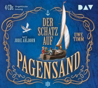 Der Schatz auf Pagensand, 4 Audio-CD