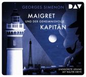 Maigret und der geheimnisvolle Kapitän, 4 Audio-CD Cover