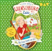 Wunschbüro Edda - Alles Grüne kommt von oben, 1 Audio-CD Cover