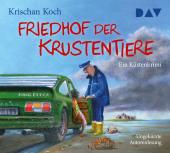 Friedhof der Krustentiere. Ein Küstenkrimi, 5 Audio-CD