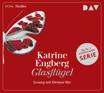 Glasflügel. Ein Kopenhagen-Thriller, 6 Audio-CD