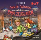 Waldo Wunders fantastischer Spielzeugladen - Wo Wünsche wahr werden, 2 Audio-CD
