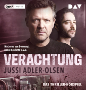 Verachtung. Carl Mørck, Sonderdezernat Q, Fall 4, 1 Audio-CD, MP3