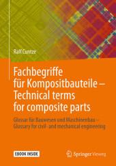 Fachbegriffe für Kompositbauteile - Technical terms for composite parts