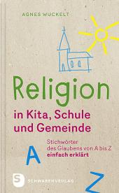 Religion in Kita, Schule und Gemeinde Cover