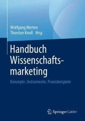 Handbuch Wissenschaftsmarketing