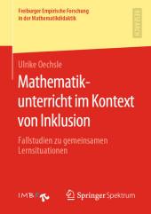 Mathematikunterricht im Kontext von Inklusion