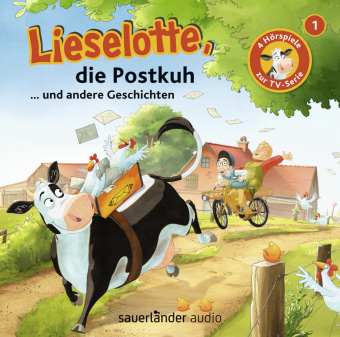 Lieselotte, die Postkuh, 1 Audio-CD