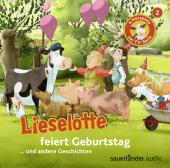 Lieselotte feiert Geburtstag, 1 Audio-CD Cover