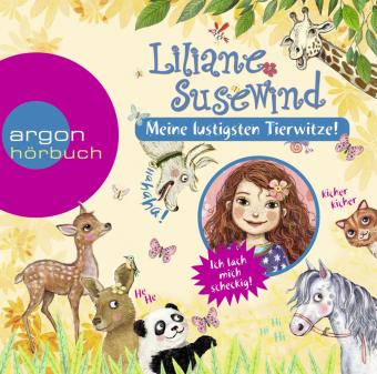Liliane Susewind - Meine lustigsten Tierwitze, 1 Audio-CD, MP3