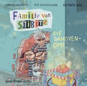 Familie von Stibitz - Die Ganoven-Omi, 1 Audio-CD Cover