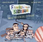 Familie von Stibitz - Der Riesenlolli-Raub, 1 Audio-CD Cover