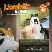 Lieselotte ist fleißig, 1 Audio-CD Cover