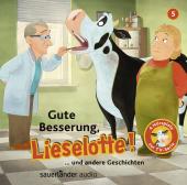 Gute Besserung, Lieselotte!, 1 Audio-CD Cover