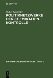 Politiknetzwerke der Chemikalienkontrolle