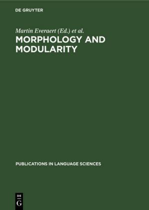 Morphology and Modularity